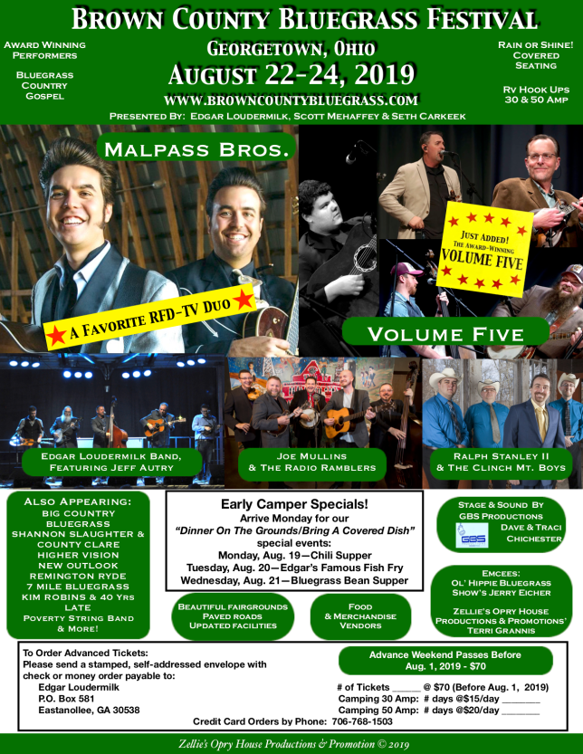 Brown County Bluegrass Festival flyer updated 6-1-2019 PNG